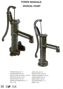 Immagine di Pompa manuale per pozzi fino a 7m